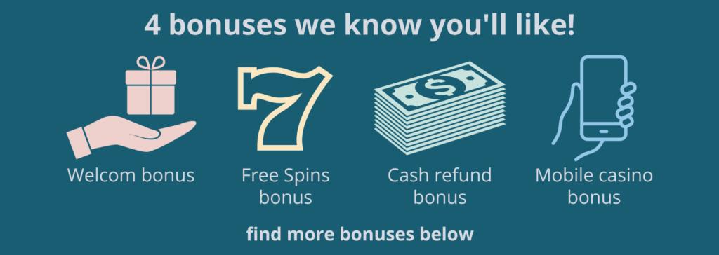 4 bonuses we know you will like