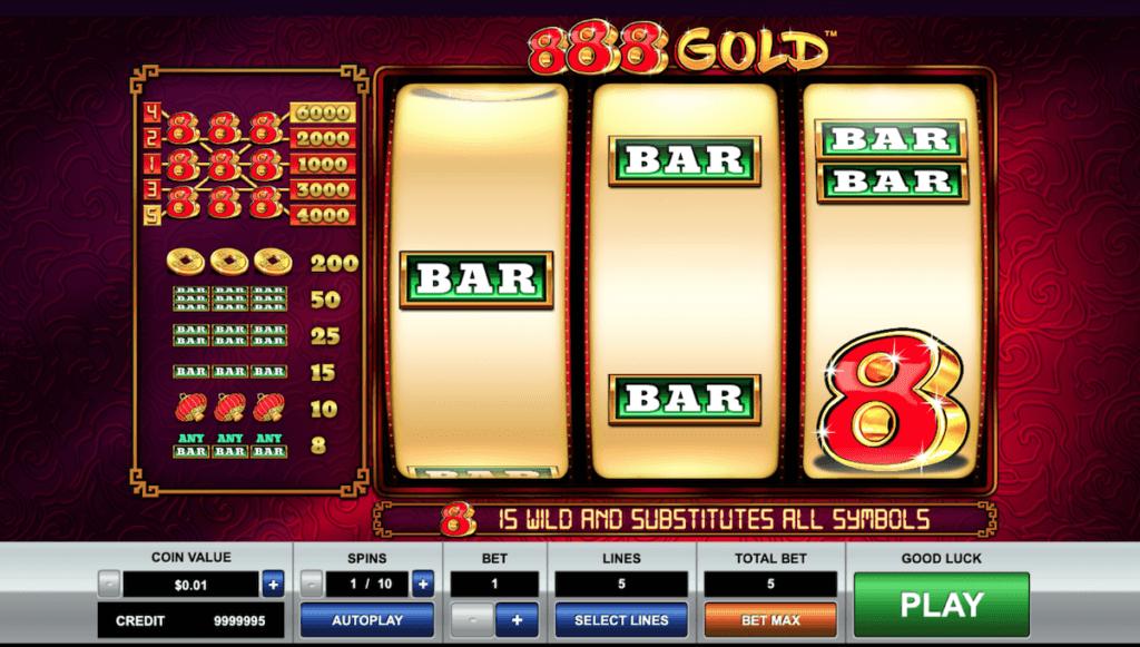 888 Gold online slot