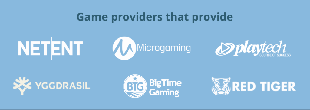 game providers in india