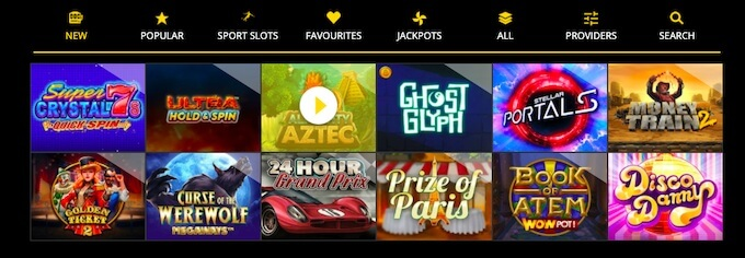 B-Bets online slots