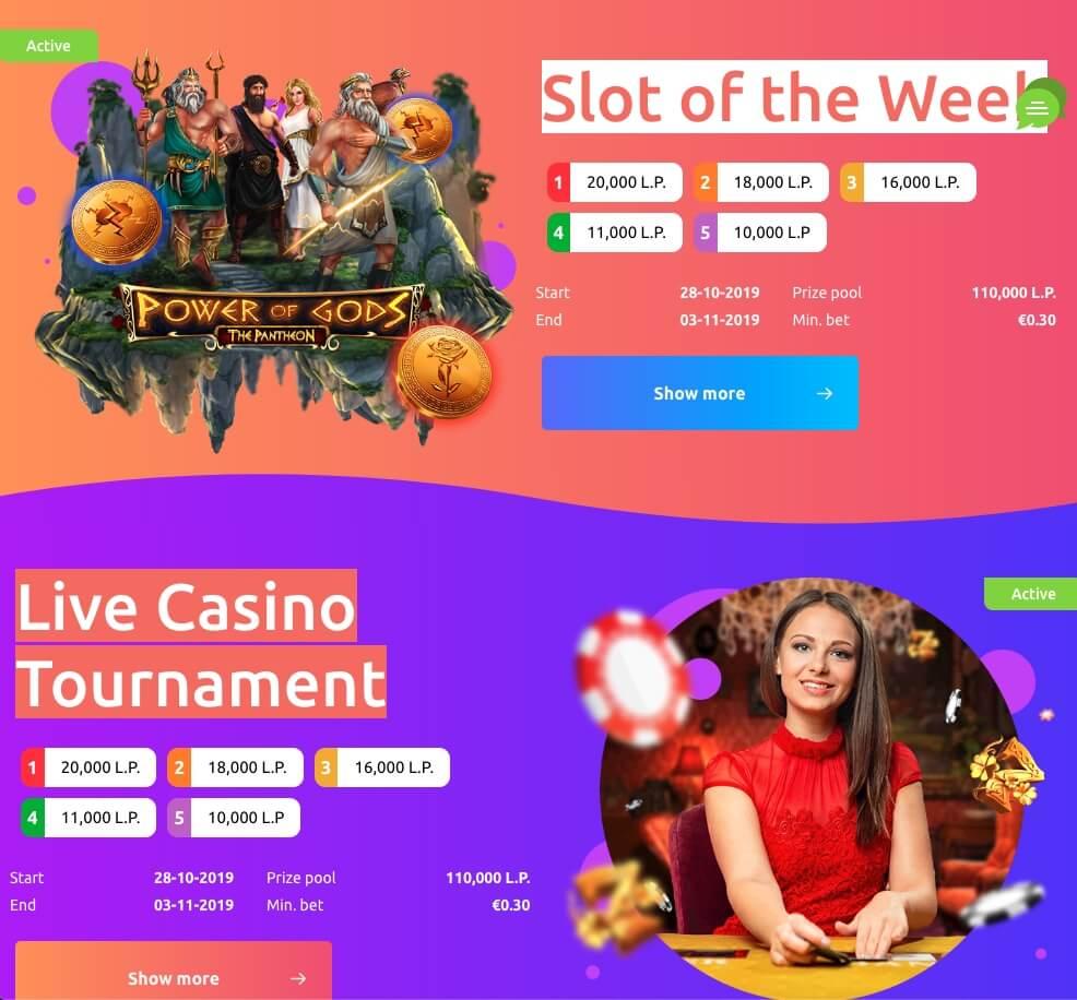 Cadoola Casino India Tournaments