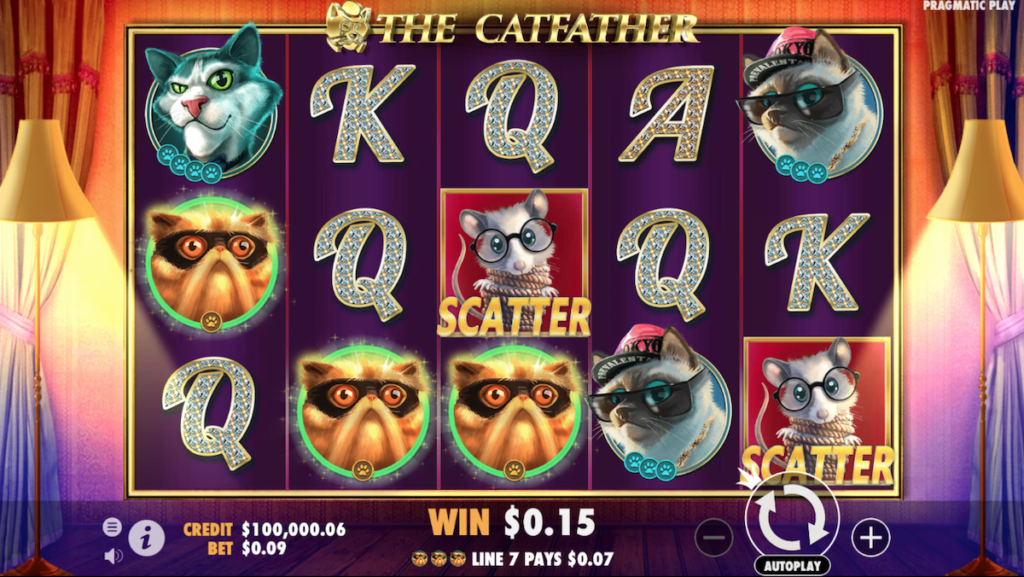 the cat father slot