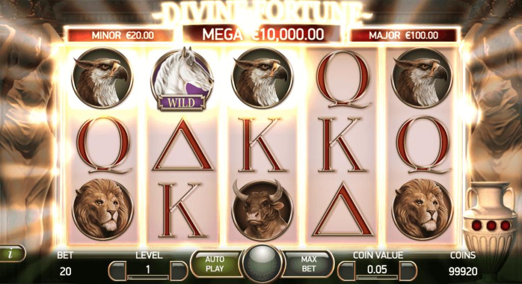 divine fortune slot india