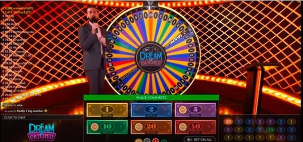 Dream Catcher casino game strategy