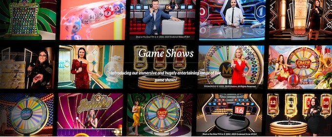 Evolution Gaming Game Shows