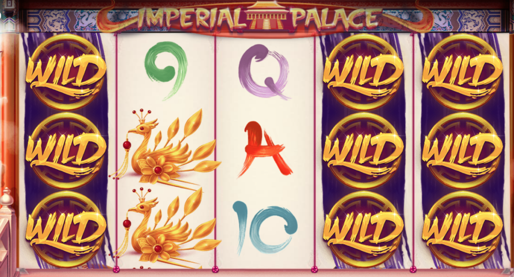 imperial palace slot by red tiger