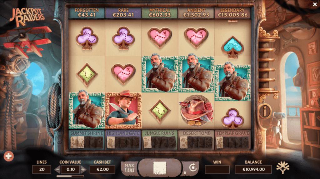 jackpot raiders slot