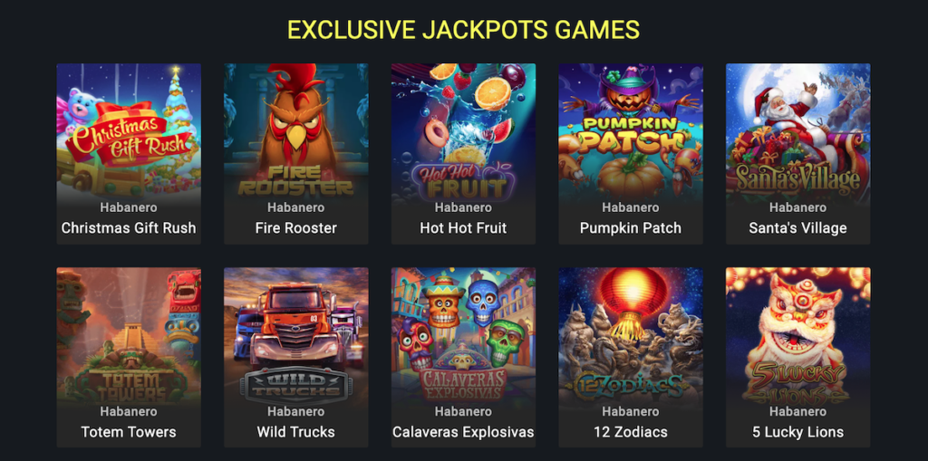 parimatch jackpots