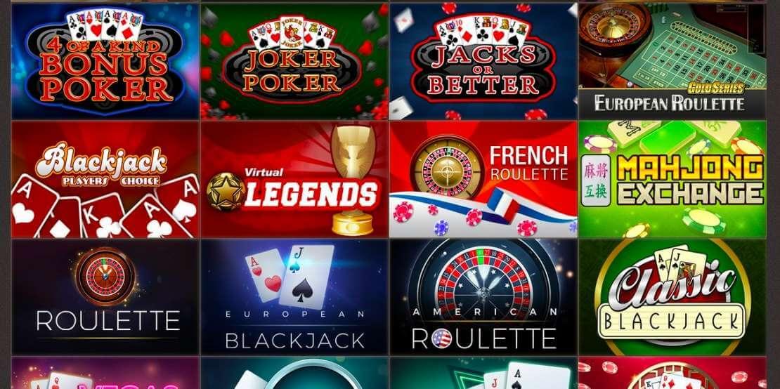 Games at Joy Casino