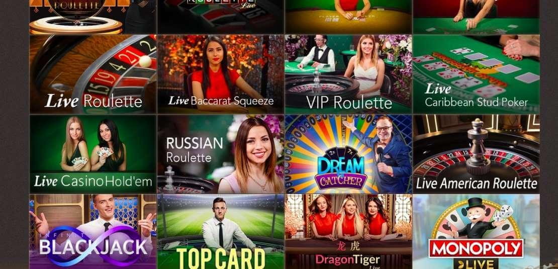 Live Casino at Joy Casino