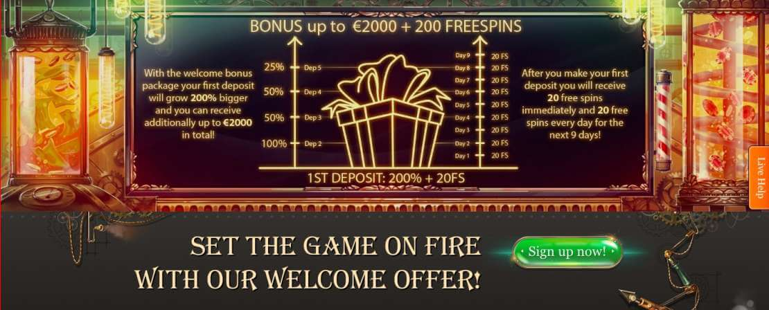 Claim the Joy Casino welcome bonus