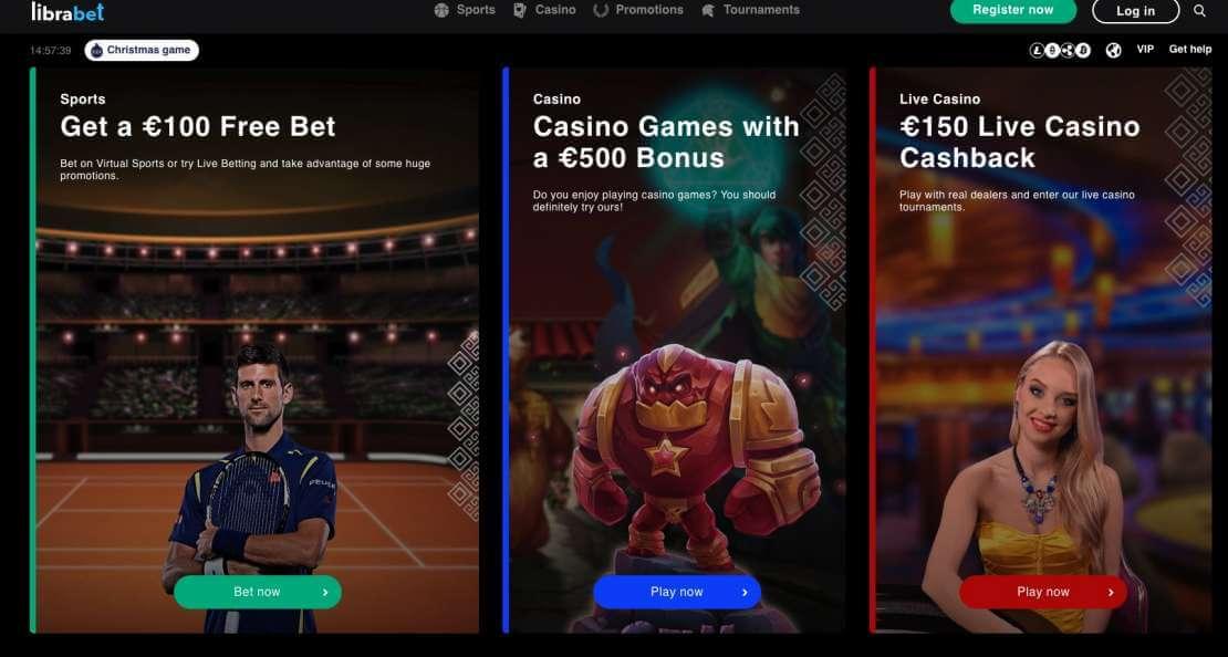 Play at Librabet Casino
