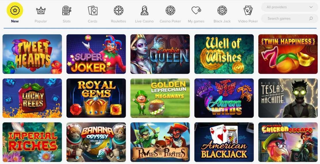 LightCasino online games