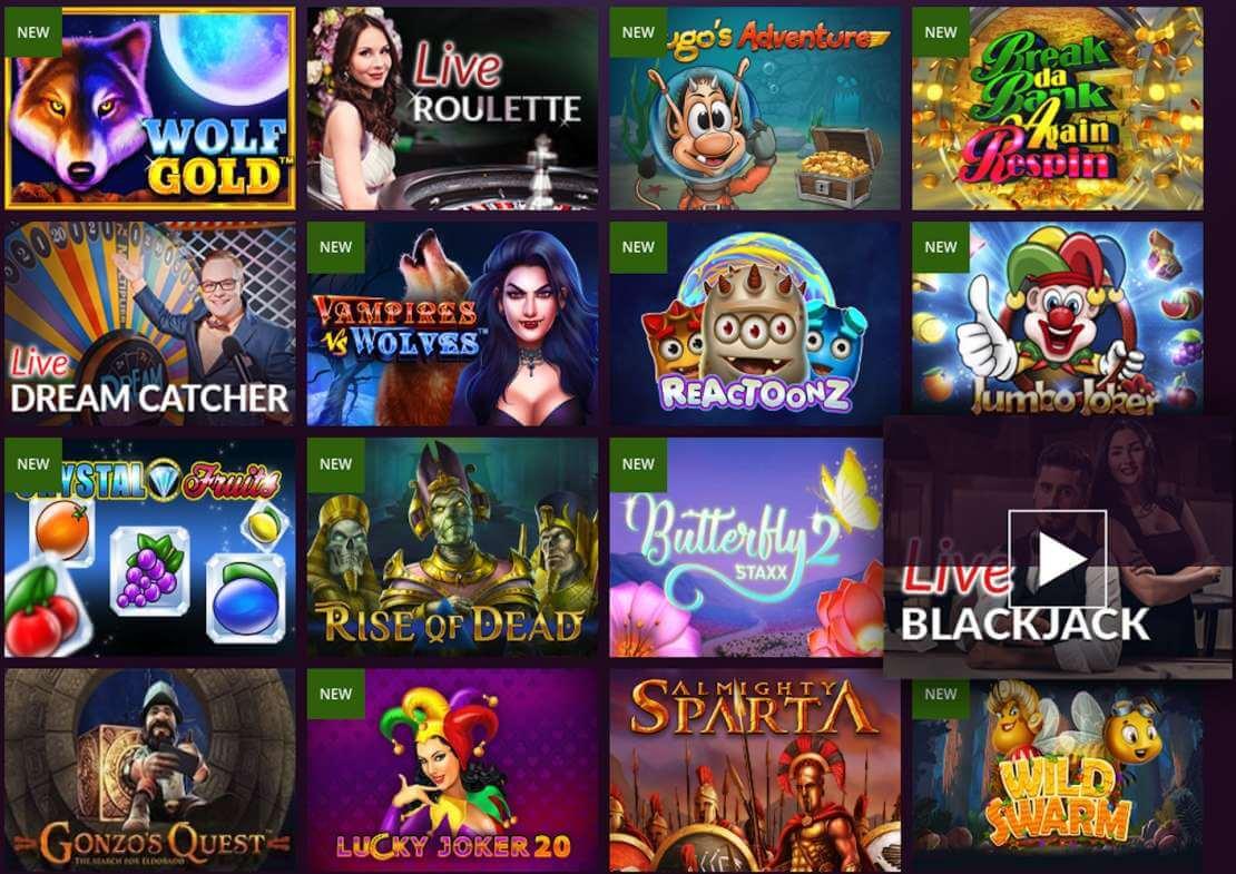 Malina casino real money games