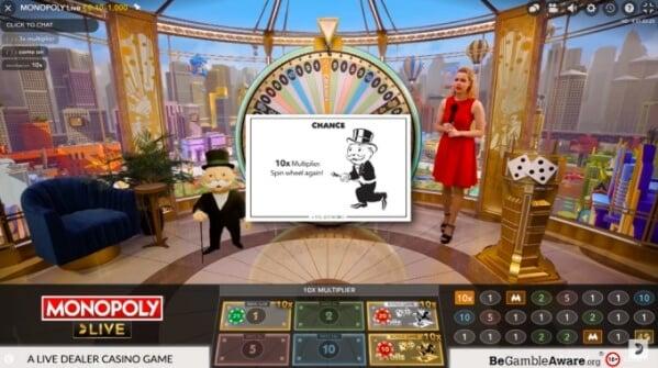 monopoly live chance