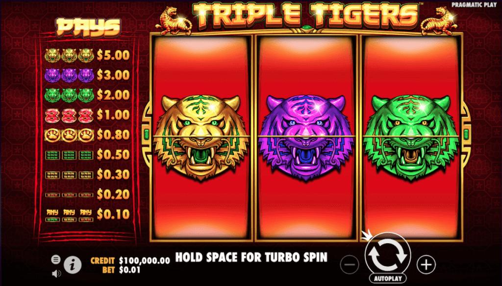 triple tiger online slot
