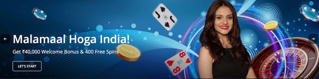 twin casino welcome bonus india