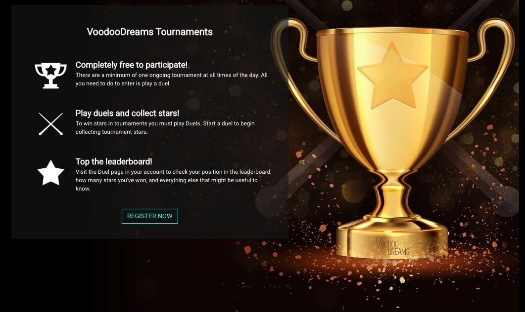 voodoo casino tournaments