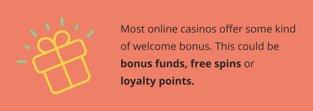 welcome bonus no deposit offer