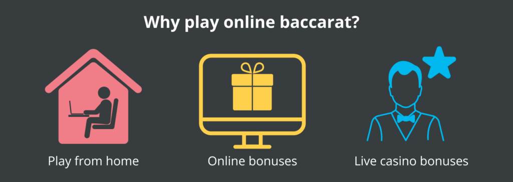 why play online baccarat?
