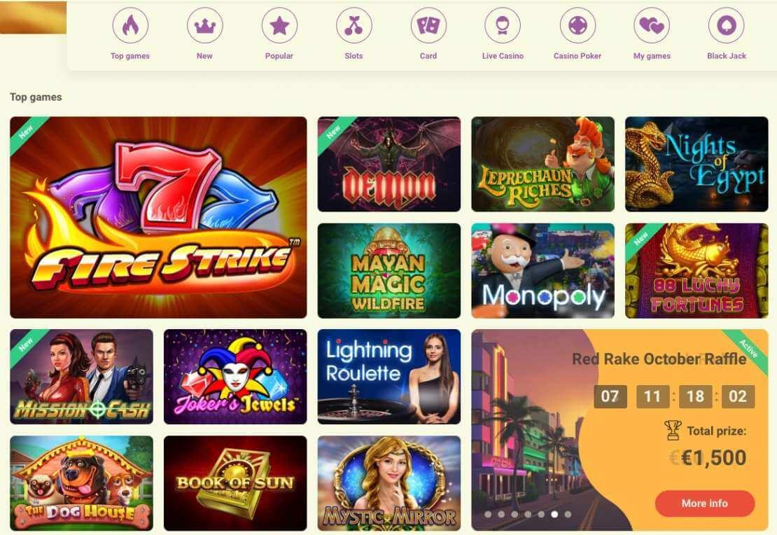 YoYo online casino games